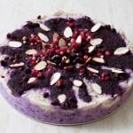 Raw Vegan Cranberry and Blackberry Cake