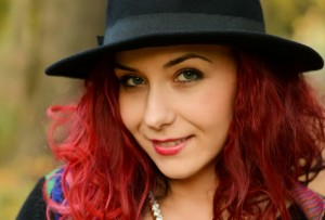 hat redhead
