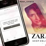 ZARA online shop- 2 Aprilie