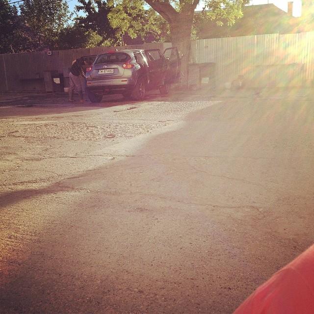 car wash nissan juke
