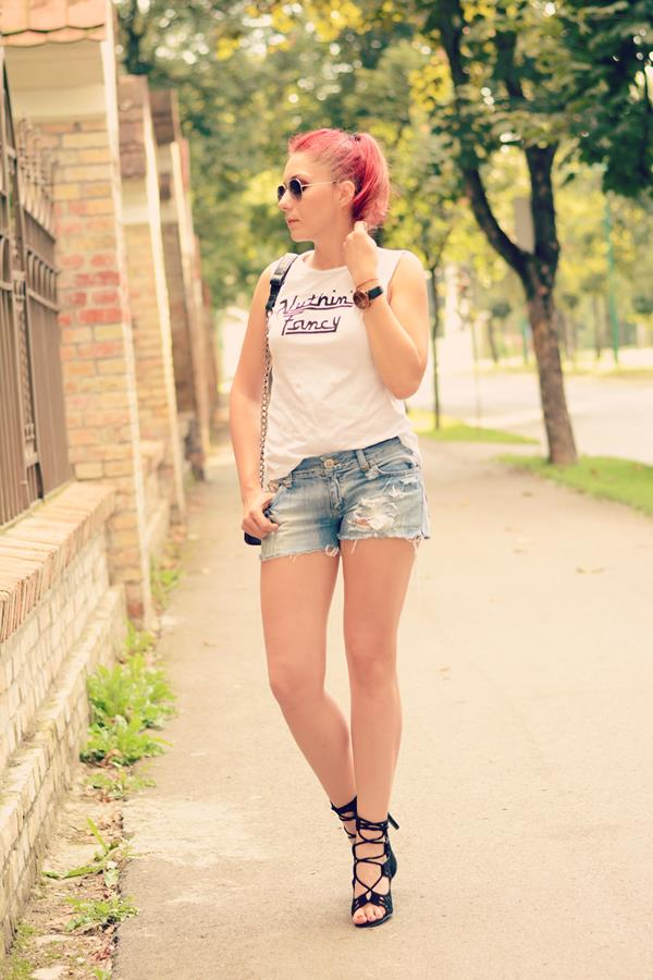 fashion shorts top