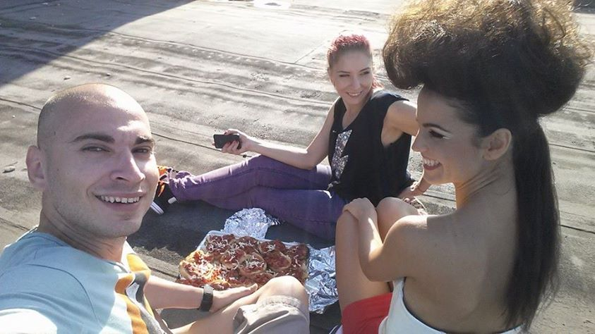 picnic on the roof top