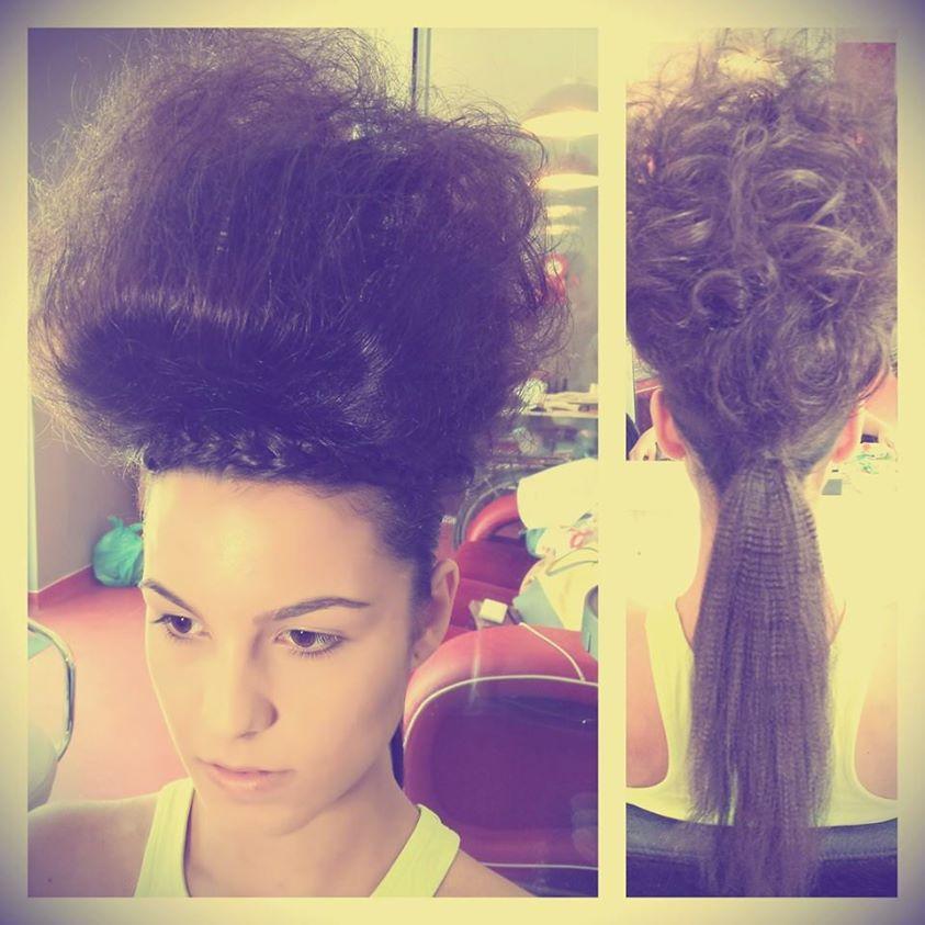 big hairdo, taft commercial