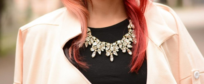 statement necklace borealy