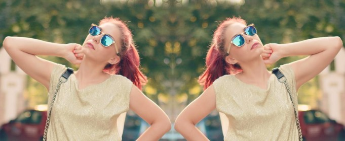 gold top mirror sunnies