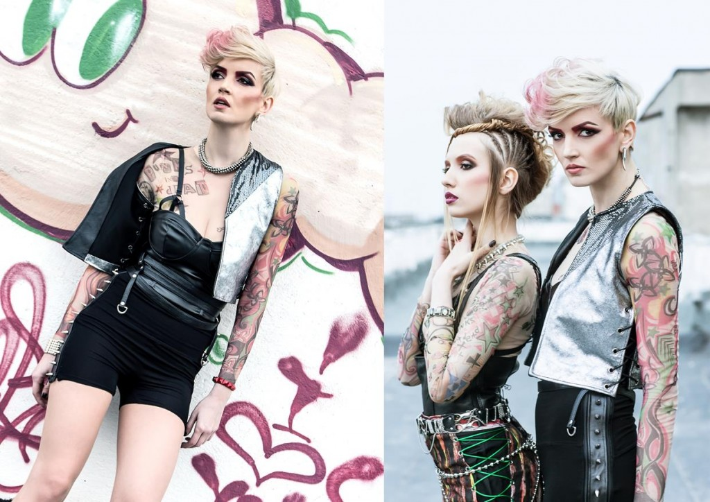 punk inspired hairstyles
