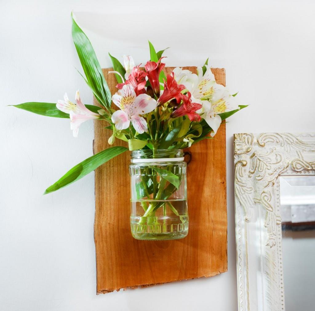 diy wooden flower pot