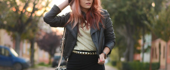 preppy rocker chic