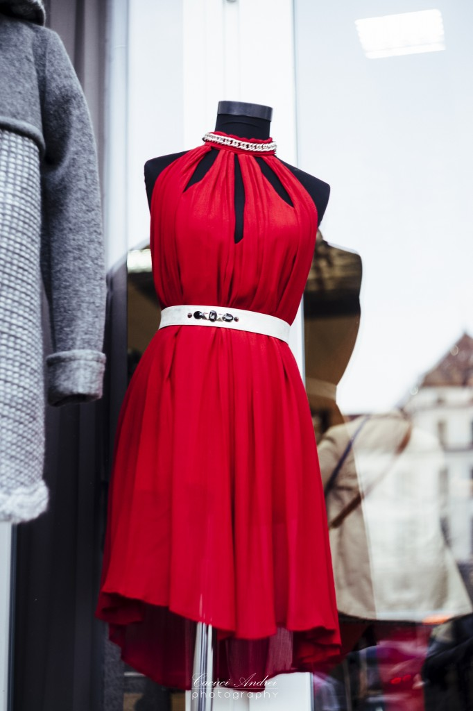 badstyle red dress