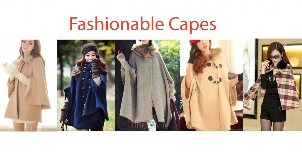 cheap fashion capes with fur
