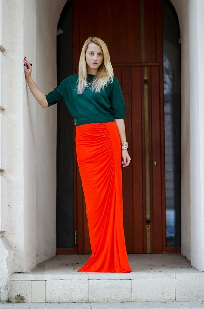 maxi-skirt-green-pulover