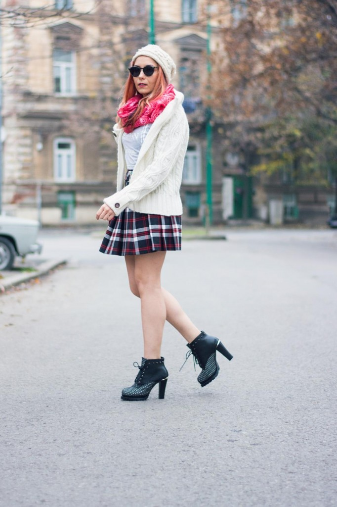 skirt styles winter outfit