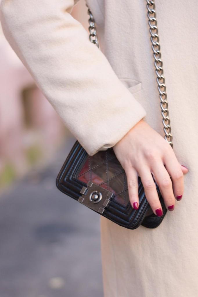 trasnparent messenger bag