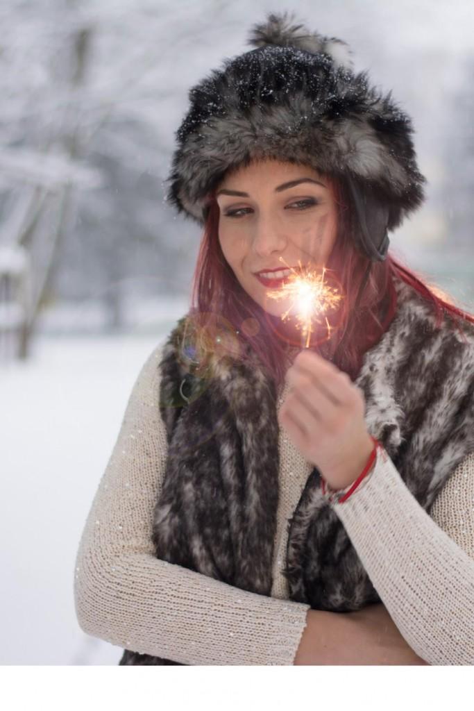 snow eskimo fashion fur