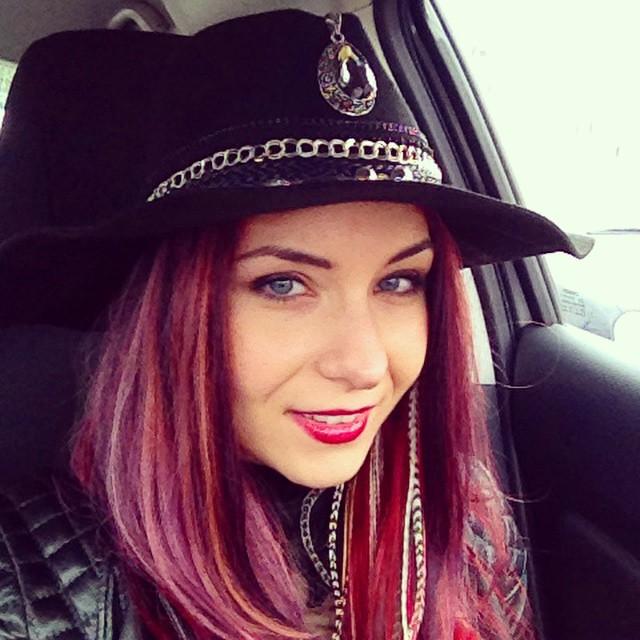 hippie embellished hat