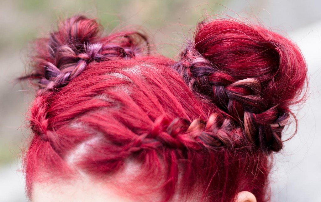 russian inspired braids