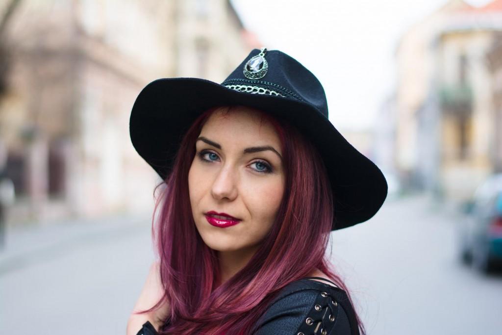 DIY embellished  hat