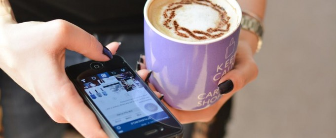 coffee and instagram