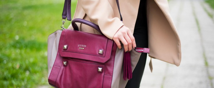 marsala guess bag