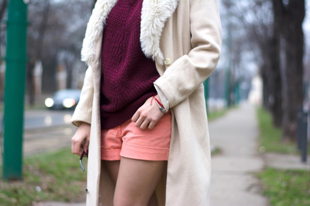 shorts in winter