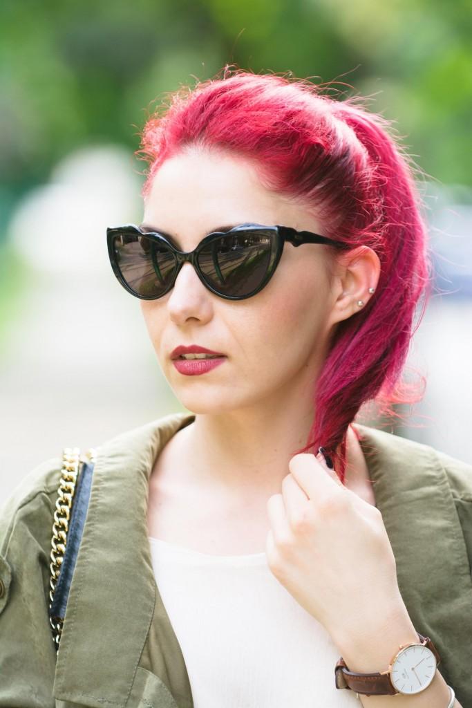 ochelari de soare moschino