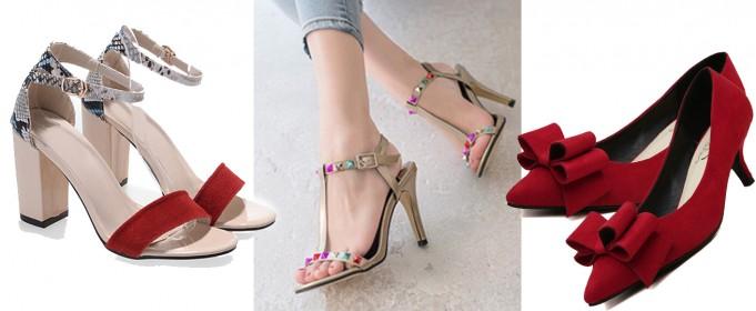 cheap fancy heels