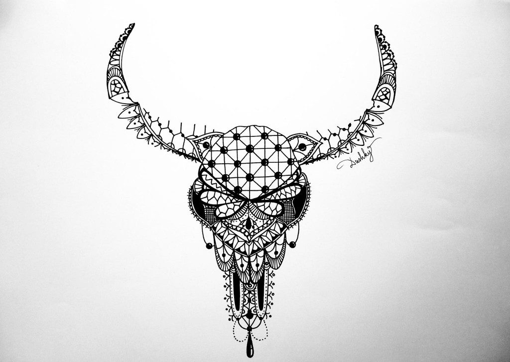skull tattoo ideas for girls