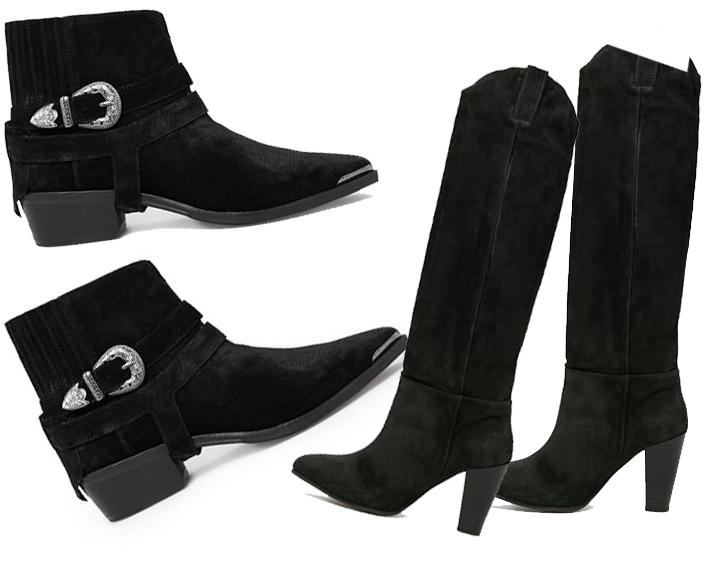 cheap leather boots