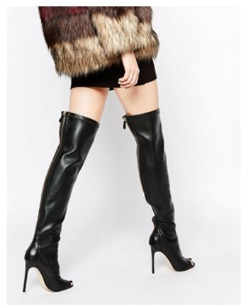 over the knee boots at half price