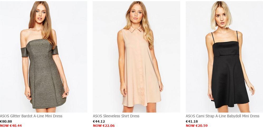 dress on sale 50% off