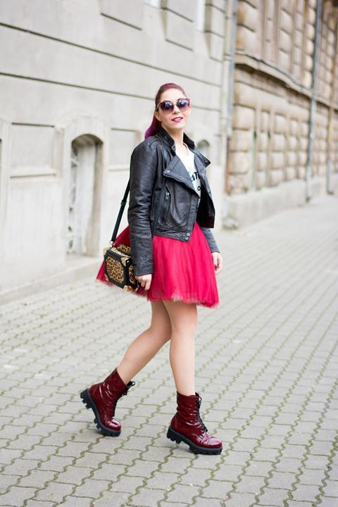 rock chic look tutu skirt