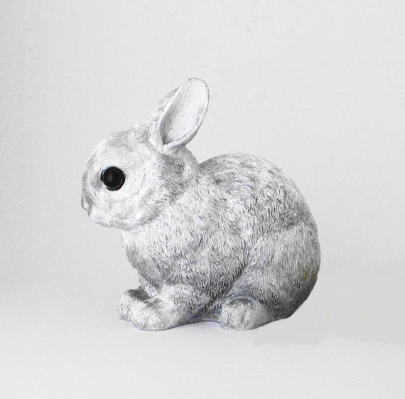 faux taxidermy rabbit