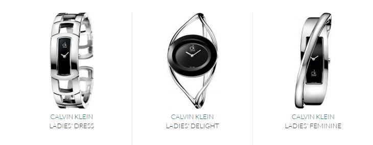 calvin klein authentic watches