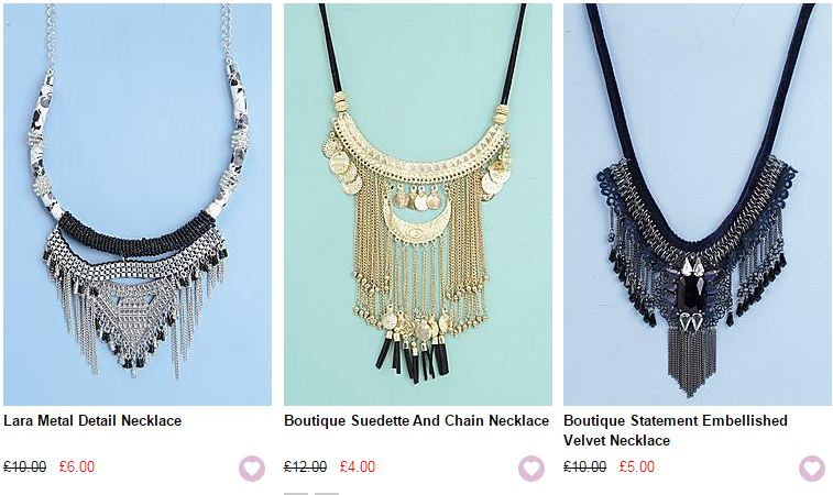 boohoo jewelry