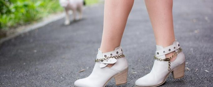 cut out ankle boots