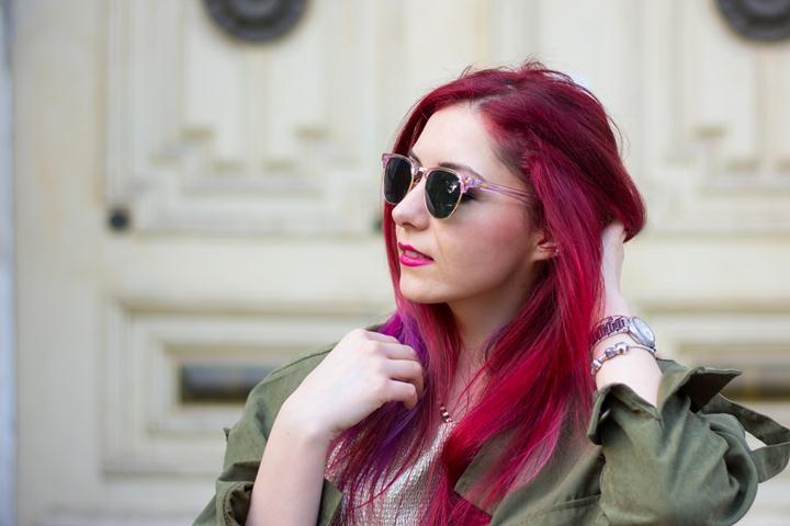 plxy rose clubmaster sunglasses