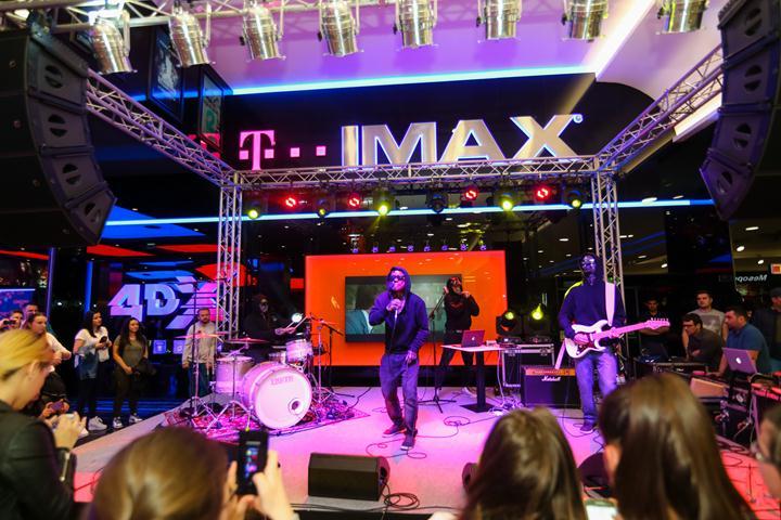 Carla's Dreams la inaugurarea Cinema City din Shopping City Timisoara (Copy)