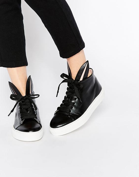 designer bunny ear sneakers