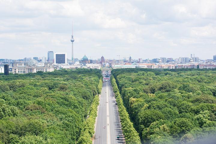 Victory Column berlin view
