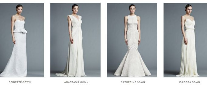 wedding dresses by j mendel