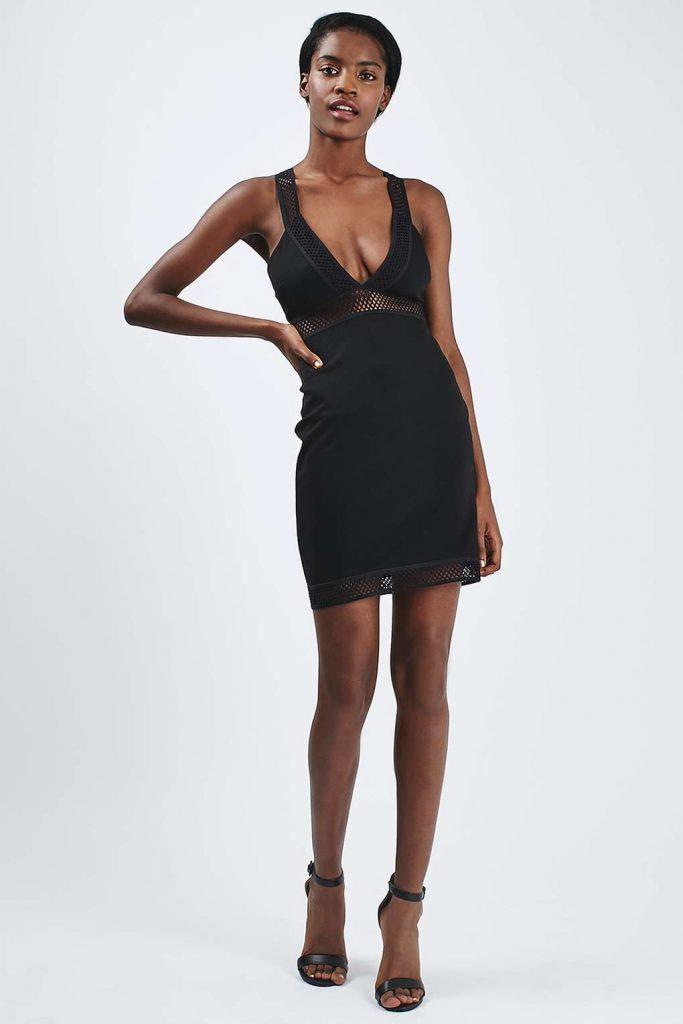 mesh dress topshop on sale