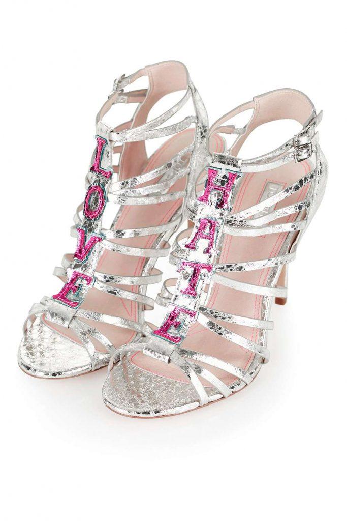 love hate sandals topshop