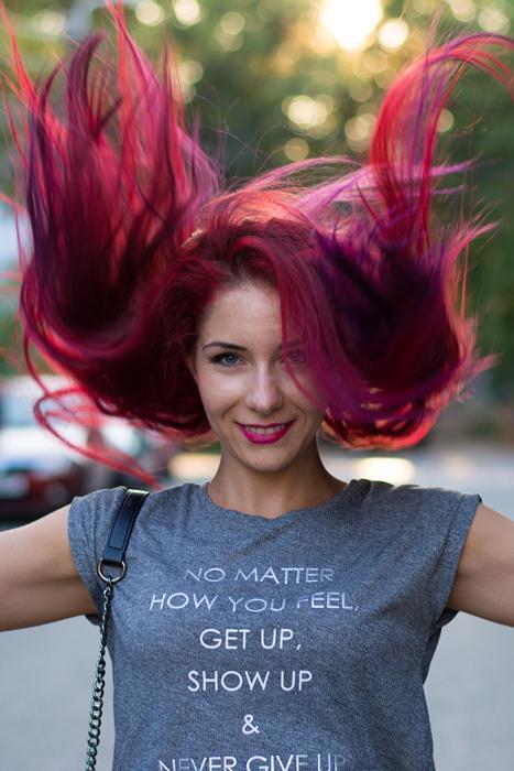 pravana haircolor magenta and purple