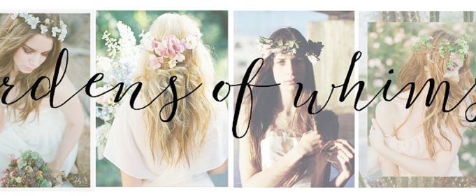 boho flower accessories for brides