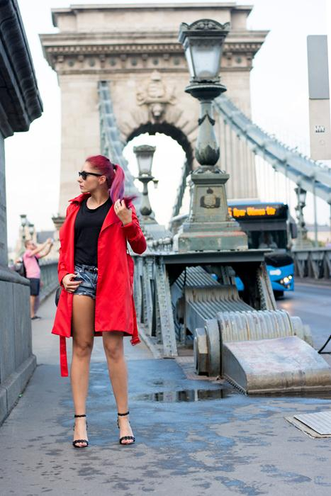 styling a trench coat