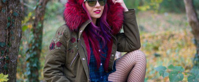 parka style fur hood