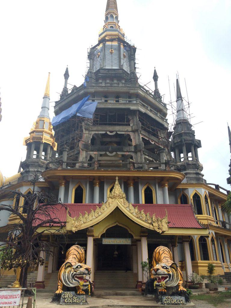 tiger temple in krabi