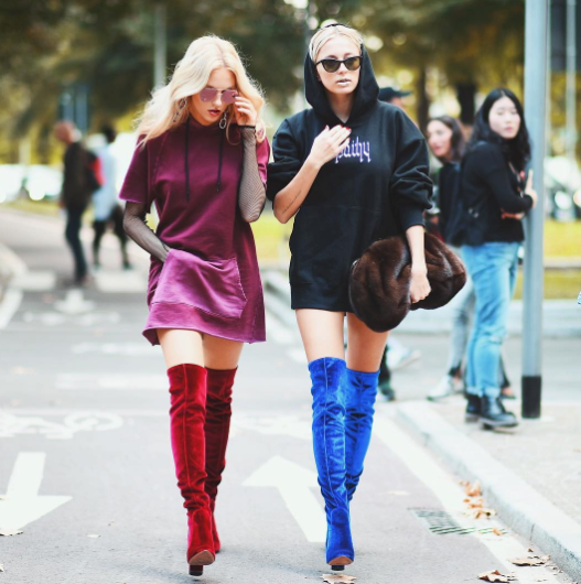boots with dresses