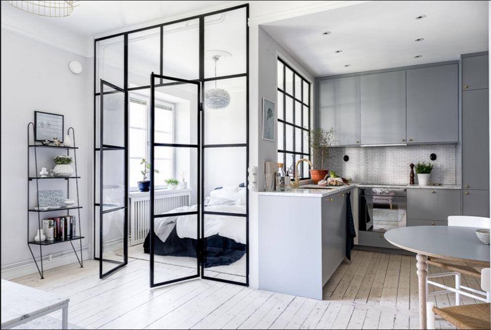 white tiles kitchen